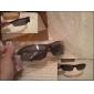 Unisex UV400 Plastic Semi-Rimless Sports Sunglasses
