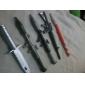 Rocket Launcher Plastic Blue Ink Ballpoint Pen(2PCS Random Colors)