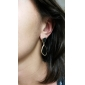 Women's   Geometry Pattern Gold Plated Alloy Earrings(Assorted Colors)