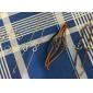 shixin® Vergoldete Legierung unendlich Charme mit einer einstellbaren Faden Armband