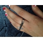 Z&X®  Individuality Vintage Style Cross Double Ring