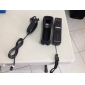 Remote MotionPlus and Nunchuk Controller with Case for Wii/Wii U (Black)