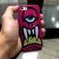 Fierce Mono-Eye Monster Pattern Hard Case for iPhone 5/5S