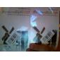 protector de pantalla transparente con un paño de limpieza para el iphone 5/5s (3 pack, 1 paño de limpieza)