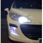 1157 0.4W 9-led lampadina bianca per luci dei freni per auto (2-pack, DC 12V)