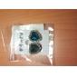 (1 coppia) Europea (blu diamante gemme) come orecchini della lega immagine