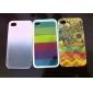 로맨틱 비 아이폰 4/4S (분류 된 색깔)를위한 본 PC 단단한 상자를 삭제