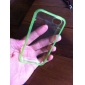 MAYLILANDTM Fluorescent Effect Lighting Transparent Case for iPhone 4/4S(Assorted Color)
