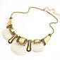 vintage legering perle vedhæng halskæde (assorterede farver)