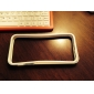 PC&TPU Transparent Classy Slim Border Case for iPhone 5/5S (Assorted Colors)