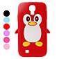 Protective Penguin Pattern Soft TPU Case for Samsung Galaxy S4 I9500 (Assorted Colors)