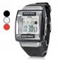 Мужской Спортивные часы электронные часы LCD Календарь Секундомер тревога Цифровой Группа Черный Белый Розовый