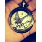 Unisex Bird Alloy Analog Quartz Pocket Watch (Bronze)