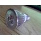 E26/E27 6 W 3 COB 600 LM Warm White PAR Dimmable Spot Lights AC 220-240 V