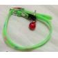 Cat / Dog Collar Footprint/Paw / Fluorescent Green Plastic