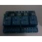 Módulo de relé 4 ch com optocoupler 5v para pic avr dsp braço para arduino