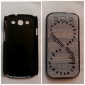 Special Letter Eight Pattern Hard Case for Samsung Galaxy S3 I9300