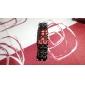 Zegarek męski styl lawa cyfrowy kalendarz czerwona dioda