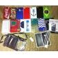 mini ładowarka samochodowa USB dla iphone iphone 6 6 plus (biały)