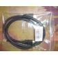 Cabo HDMI V1.4 de Alta Velocidade Folheado à Ouro para TV Smart HDTV, Apple TV, DVD Blu-Ray 1M 3FT 1080P 3D