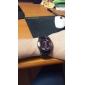 Men's Plastic Analog Quartz Wrist Watch (Black) Cool Watch Unique Watch