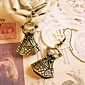 Retro dress sub earrings earrings earrings bow earrings E35