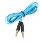 3,5 mm audio jack-kabel for ipad air to iphone 6 iphone 6 pluss iphone 5s / 5 ipad mini 3/2/1 ipad luft (100cm)