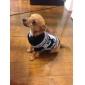 Собаки Свитера серый Одежда для собак Зима Животный принт Рождество