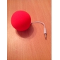 3.5mm Fashion Creative Mini Music Balloon Speaker Cute Music Ball for MP3 MP4 CellPhone PC Tablet (Assorted Color)