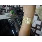 Women's Watch Bracelet Gold Diamond Case Alloy Band