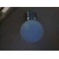 E27 1W 12x3528 MD 30 LM 2700K LED-glödlampa med varmt vitt lju (220-240V)