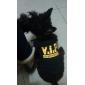 vip stijl katoenen dieren shirt (xs-l, zwart)