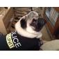 Собаки Футболка Черный Одежда для собак Лето Полиция/армия / Буквы и цифры