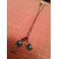 Классический Циркон (Блокировка ключ формы сплава ожерелье (1 шт)