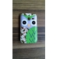 Exquisite Owl Pattern Hard Case for Samsung Galaxy Y Duos S6102