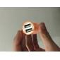 Новый 2-портовый USB Автомобильное зарядное устройство (случайный цвет)