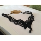 Vintage Hollow Lace Butterfly Pendant Necklace