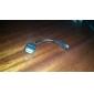 OTG Micro USB-kabel för Android-telefon (Svart,14CM)
