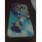 Colorful Balloons Pattern PC Hard Case Frame for iPhone 5/5S