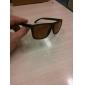 Men's UV400 Plastic Rectangle Full Frame Sunglasses