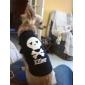 Gatos / Perros Camiseta Negro / Azul / Amarillo / Morado / Vino Ropa para Perro Verano Cráneos / Corazones