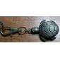 Reloj y Llavero Con Apariencia de Tortuga de Mecanismo Quartz Análogo - Bronce