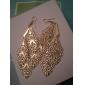 Earring Drop Earrings Jewelry Women Party Alloy Gold