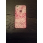 Silk Print with Fluorescent Light PC Hard Back Cover for iPhone 5C