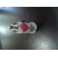 Special Colorful Grids Pattern  USB Car Charger for iPhone and Others (5V 1A)