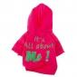 Собаки Толстовки Зеленый Черный Розоватый Одежда для собак Зима Весна/осень Буквы и цифры Мода