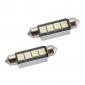 42 millimetri 4 LED SMD lampadina bianca