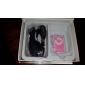 TF Card Reader Lecteur MP3 avec clip Sac rose et blanc