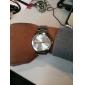 Men's Calendar Style Alloy Analog Quartz Wrist Watch (Silver) Cool Watch Unique Watch