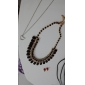 Jewelry Chain Necklaces Wedding / Party / Daily / Casual / Sports Alloy / Resin Women Black / White / Green Wedding Gifts